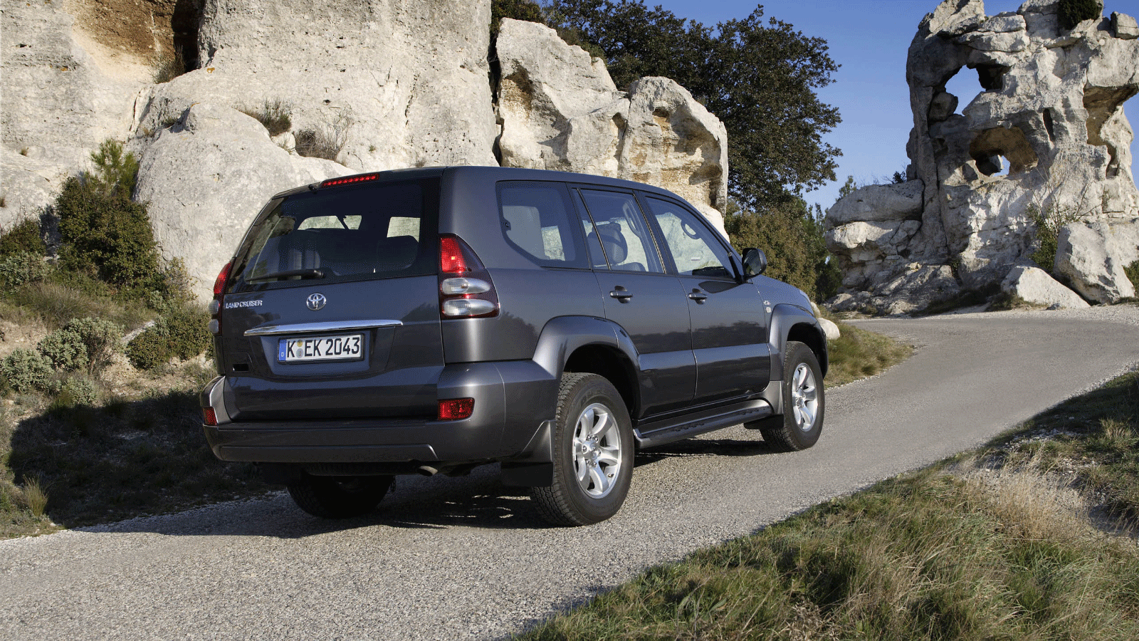 Toyota Land Cruiser Prado (120) '2002–09
