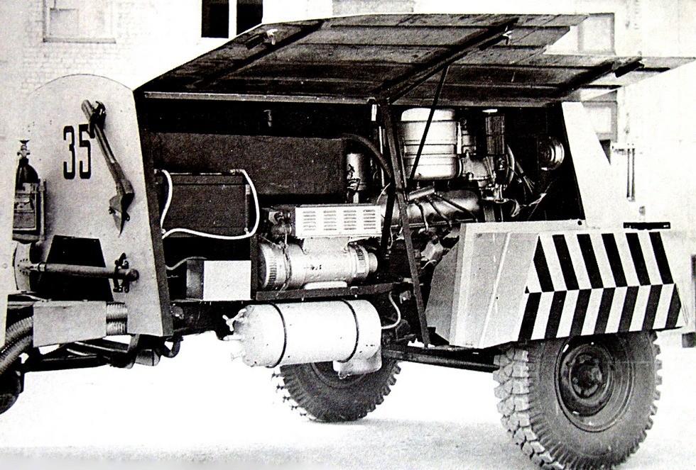 Силовой прицеп с 180-сильным мотором и электрогенератором