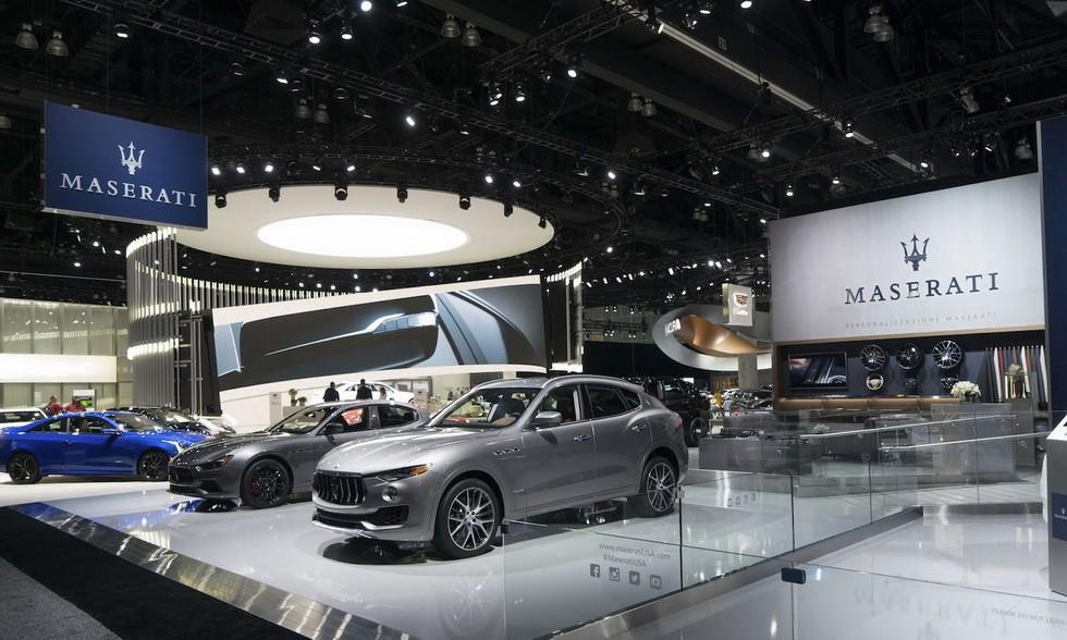 Maserati Ghibli и Levante 2018