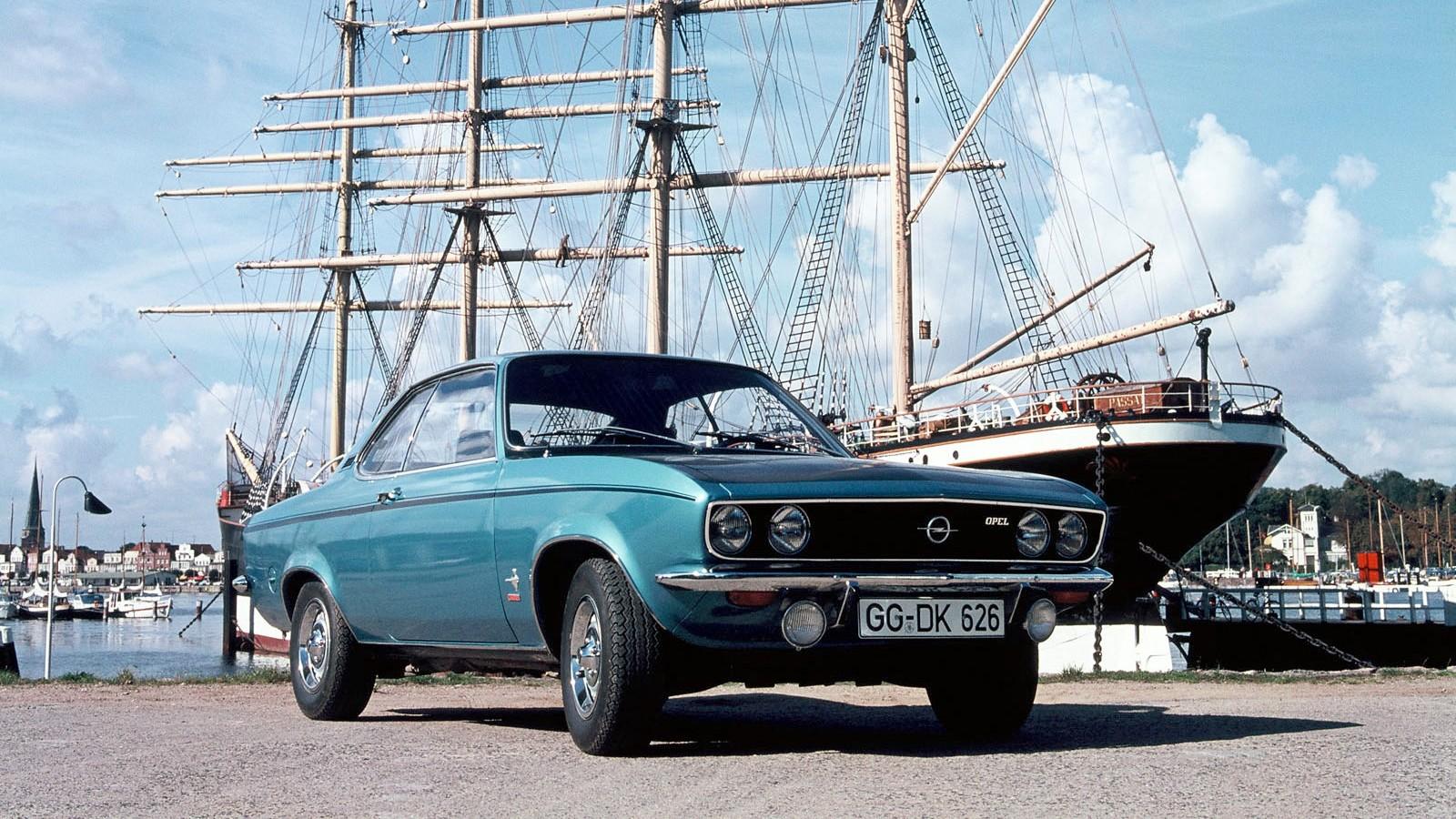 На фото: Opel Manta (A) '1970–1975