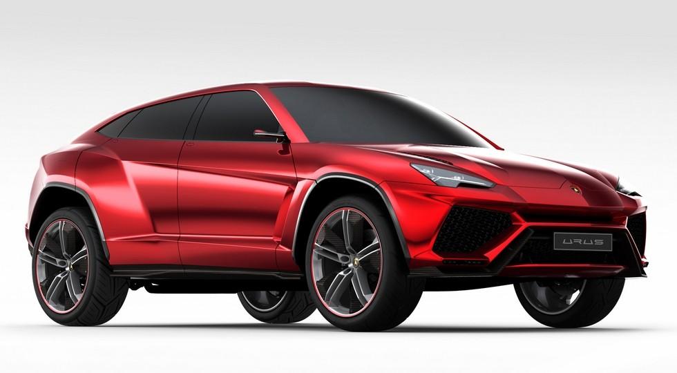 На фото: концепт Lamborghini Urus, представленный в 2012 году