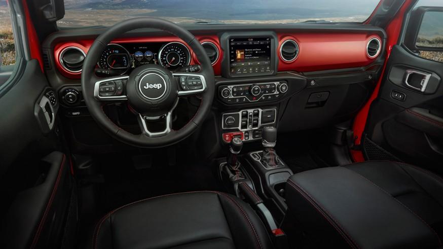 2020 Jeep® Gladiator – interior