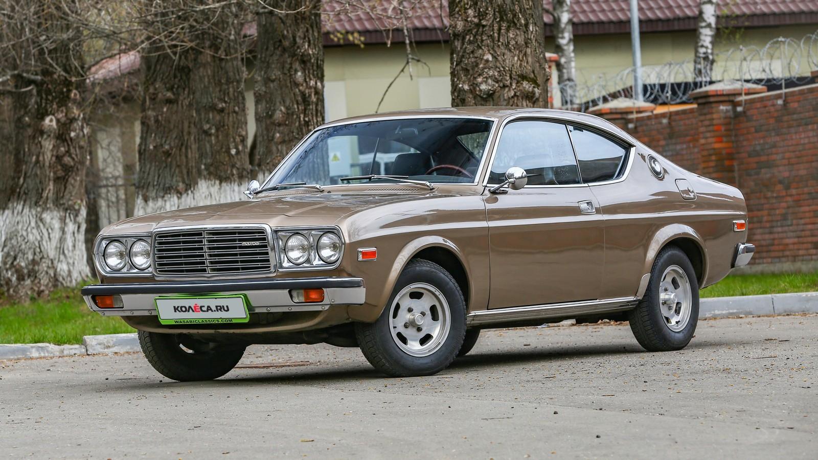 Mazda 929 коричневая вид три четверти
