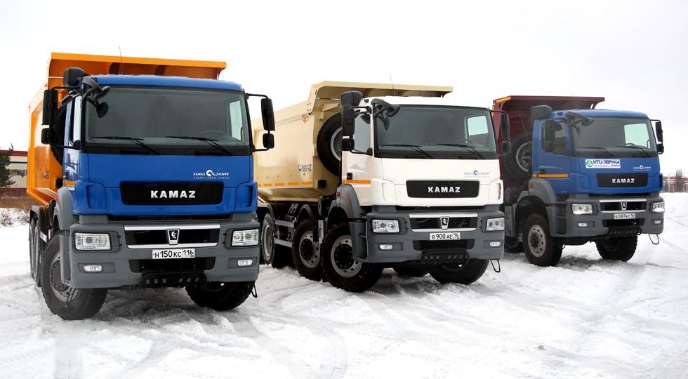 На фото: новая линейка КАМАЗа