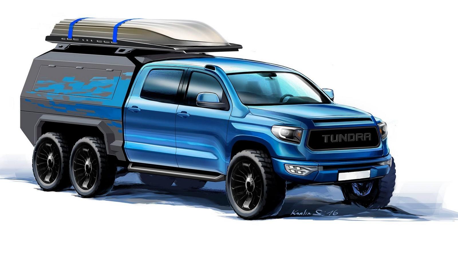 Визуализация Toyota Tundra 6x6 Hercules от ателье «4x4 Tundra»