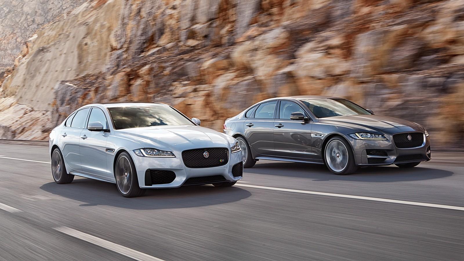 На фото: Jaguar XF '2015–н.в.