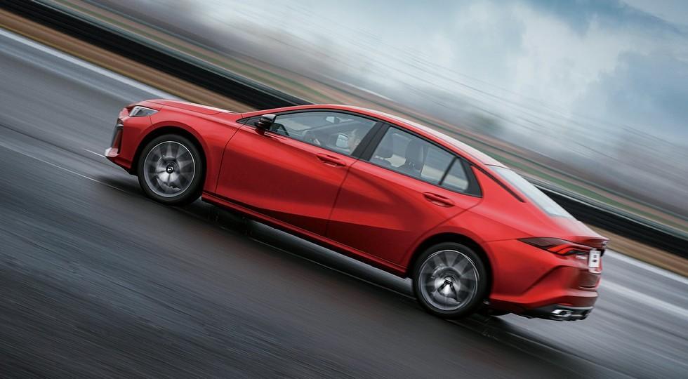 GAC выпустил «молодёжный» седан размером с VW Jetta: два варианта дизайна, пока один мотор