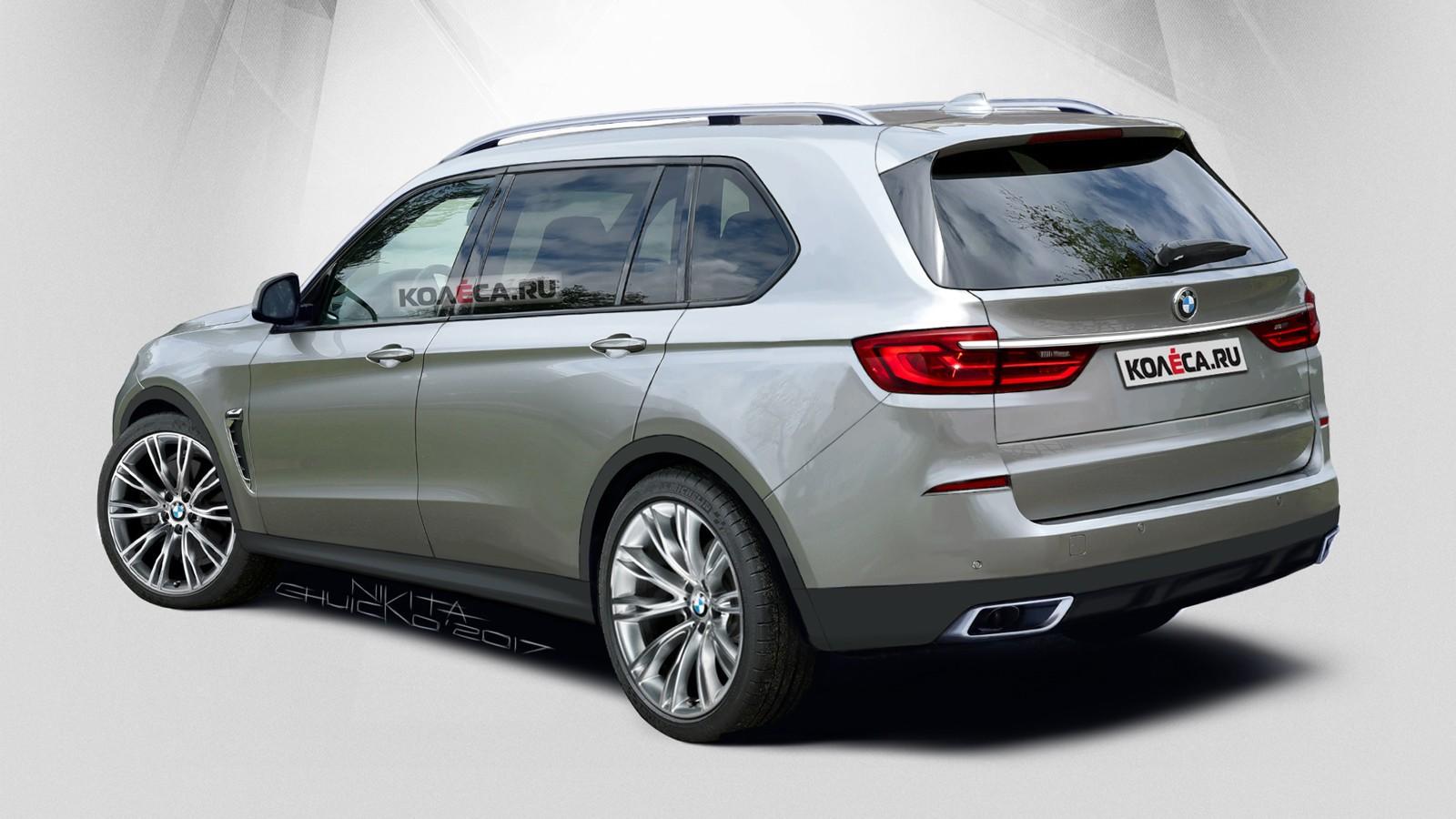 Предполагаемая внешность нового BMW X7