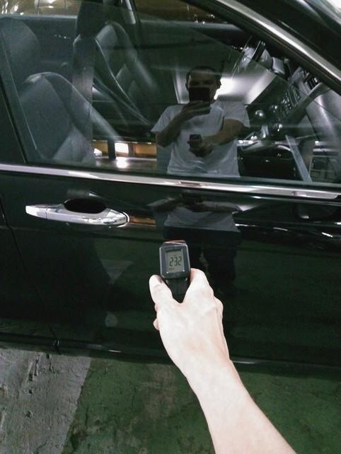 Honda CR-V толщиномер