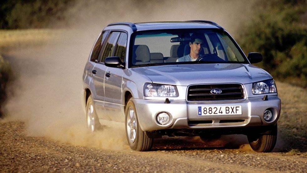 Subaru Forester (SG) '2003–05 в