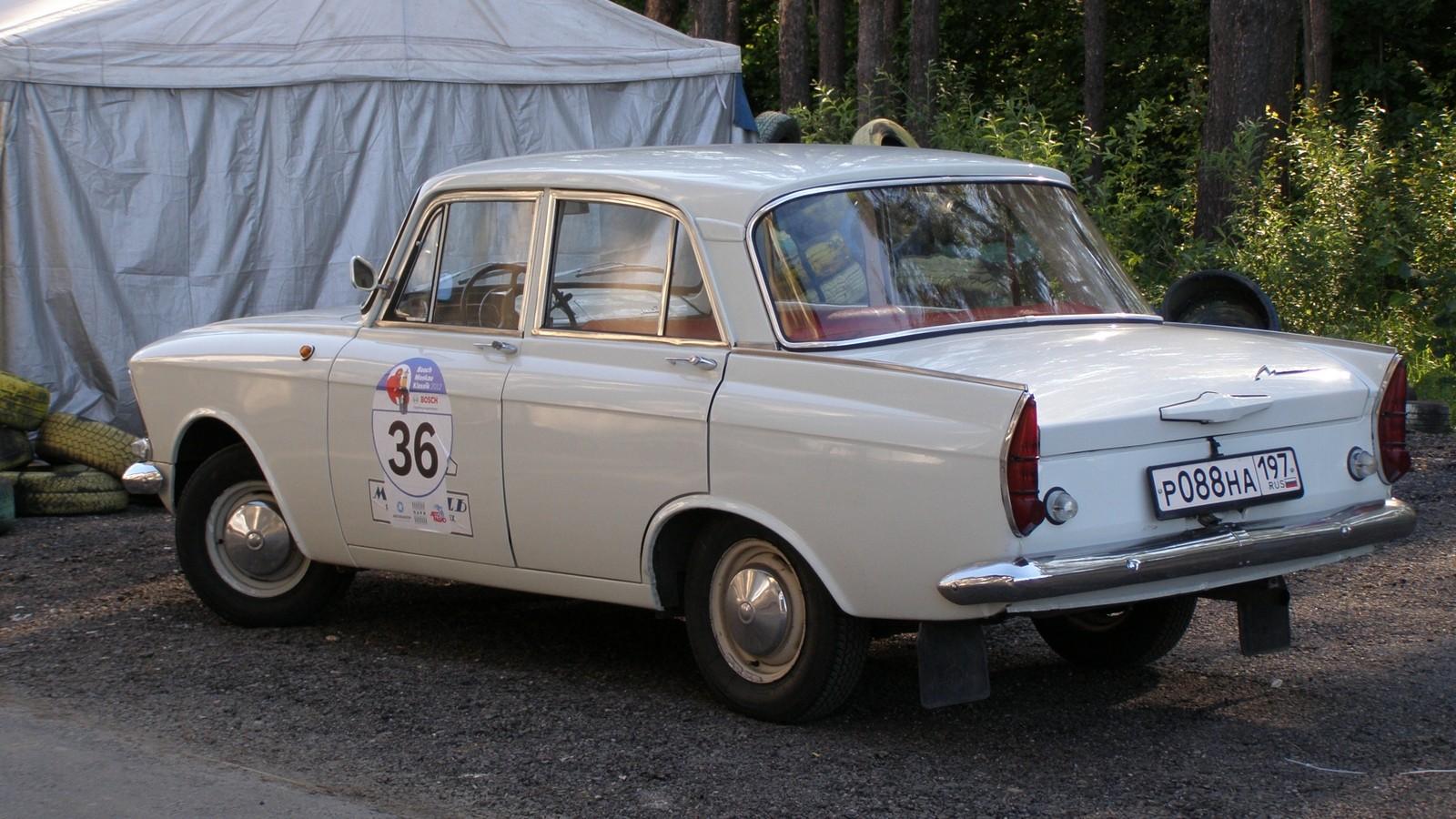 СИ Москвич-408 — ижевский первенец 1