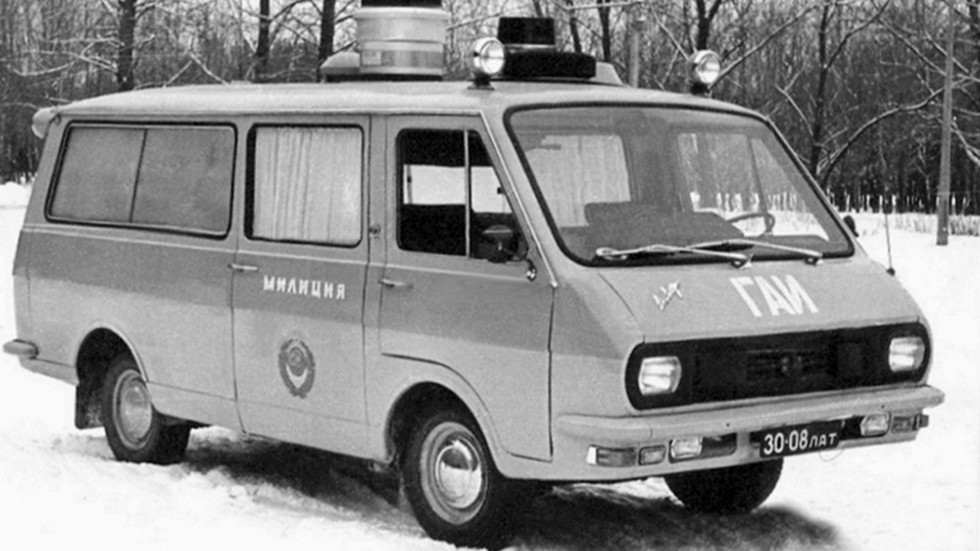 Милиция не только карает: существовала даже специальная «гаишно-медицинская» версия РАФ-22036 для оказания оперативной помощи пострадавшим в ДТП
