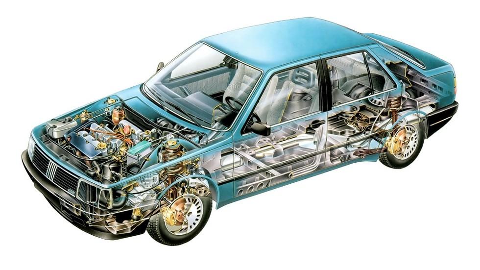 Fiat Croma схема автомобиля