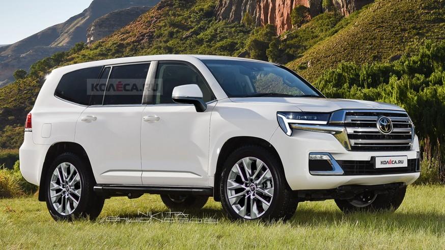 Toyota готовится представить Land Cruiser 300: тизер и дата премьеры нового внедорожника