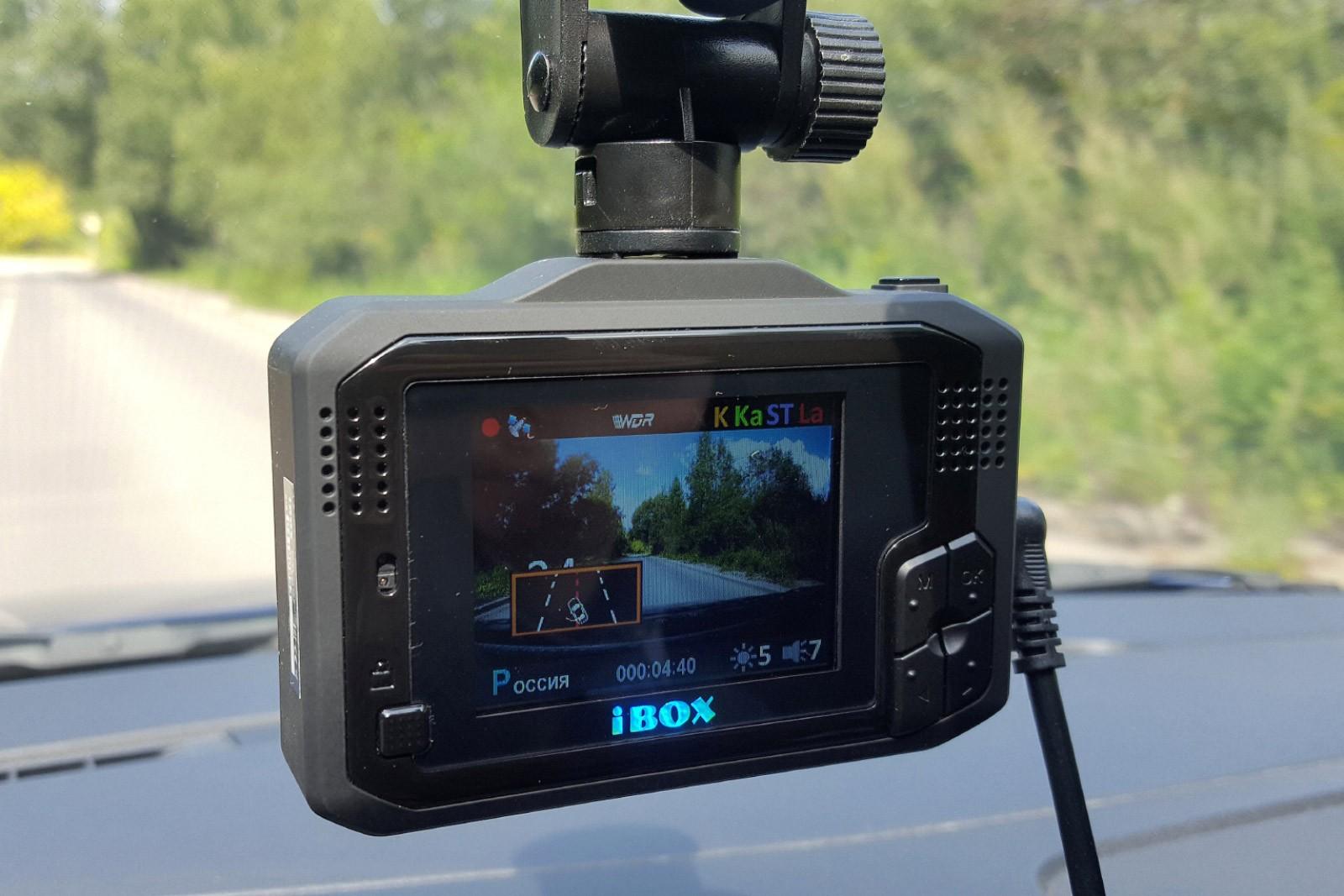 Комбо-устройство + смартфон = ? Обзор радар-детектора/видеорегистратора iBOX F5 WiFi SIGNATURE A12