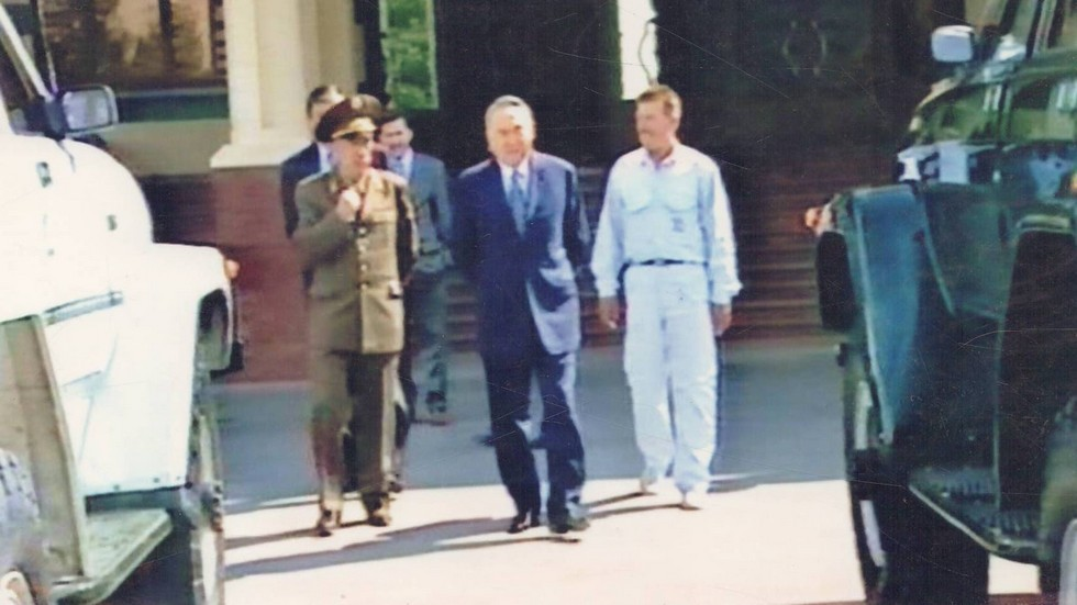 LAF 4101 на осмотре у главы государства Нурсултана Назарбаева