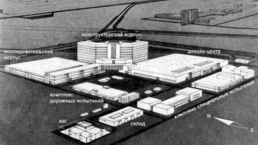 Итоговый проект НТЦ (1987 год)