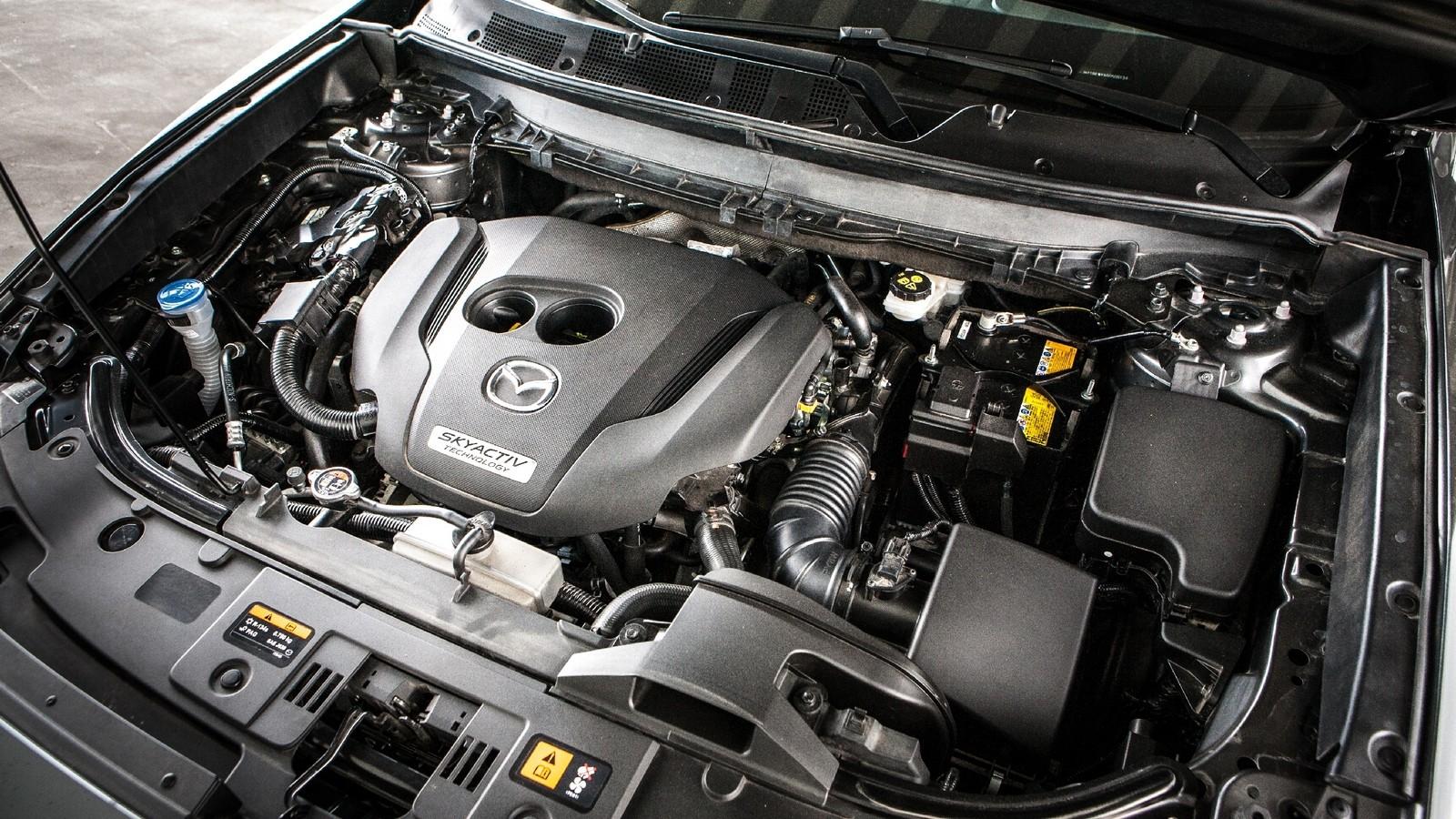 Mazda CX-9 двигатель