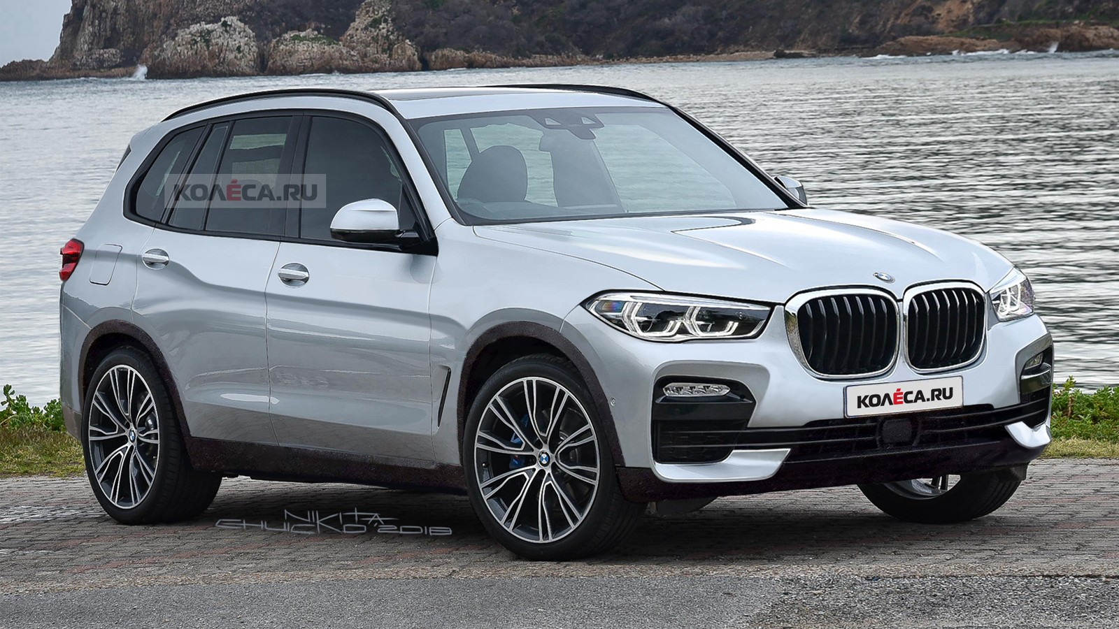 BMW X5 new front2