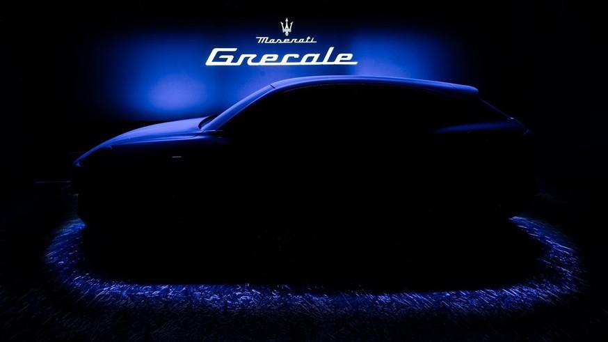 Кроссовер Maserati Grecale обрёл лицо: первые изображения