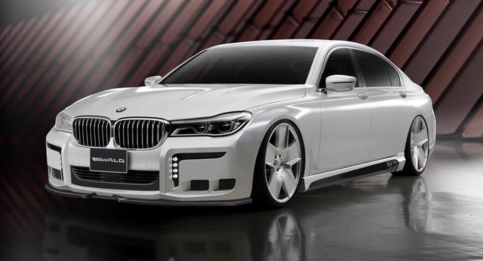 BMW 7-Series Black Bison Edition