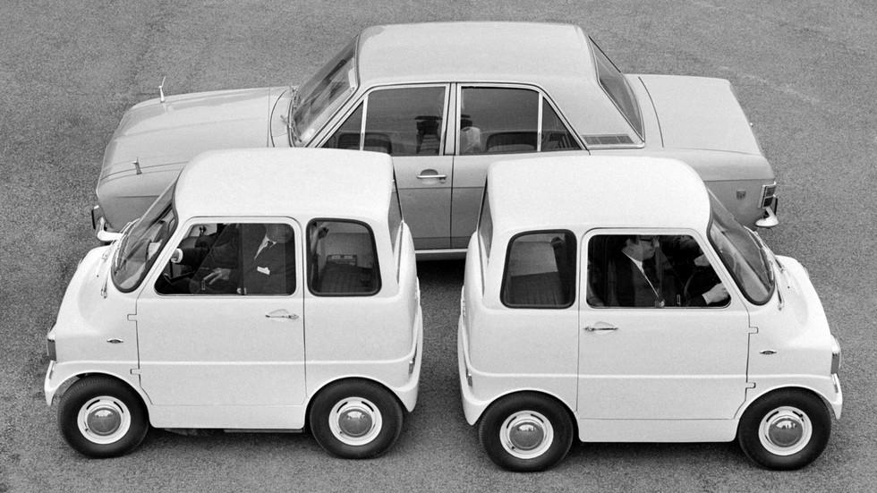 На фото: Ford Comuta. Англия, 1967