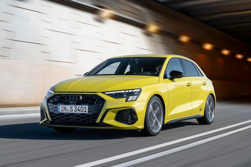 «Заряженные» седан и хэтчбек Audi S3 не стали мощнее в новом поколении