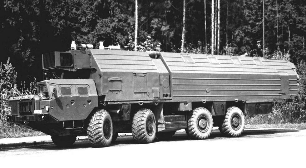 Тяжелый кузов 7903 для машин боевого дежурства (из архива НИИЦ АТ)