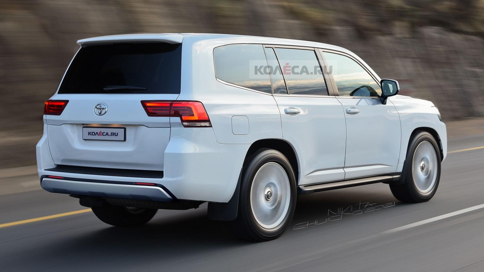 Новый Toyota Land Cruiser 300: первые изображения