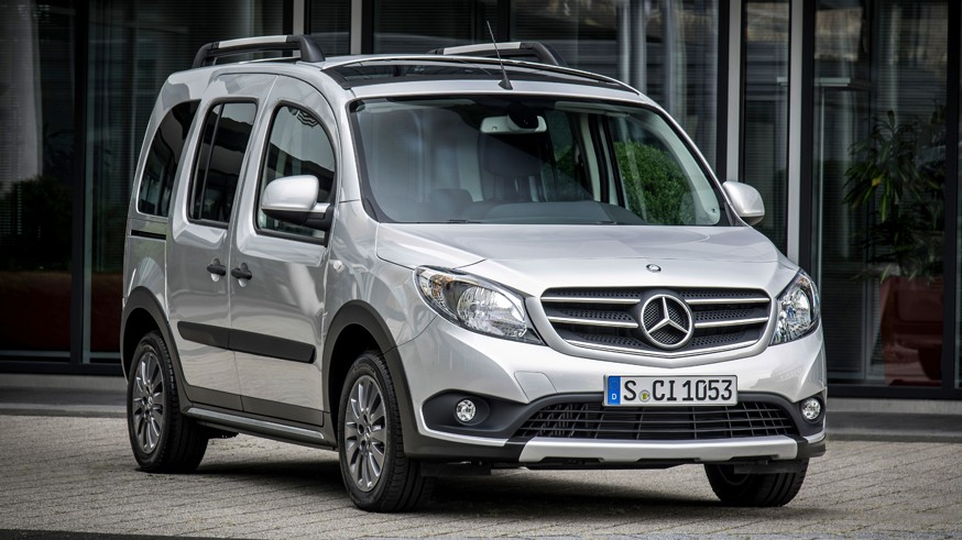 Mercedes-Benz создал новый T-Class вместе с Renault-Nissan-Mitsubishi