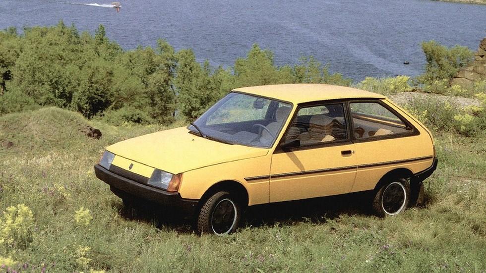На фото: ЗАЗ-110206 Таврия '1990–98