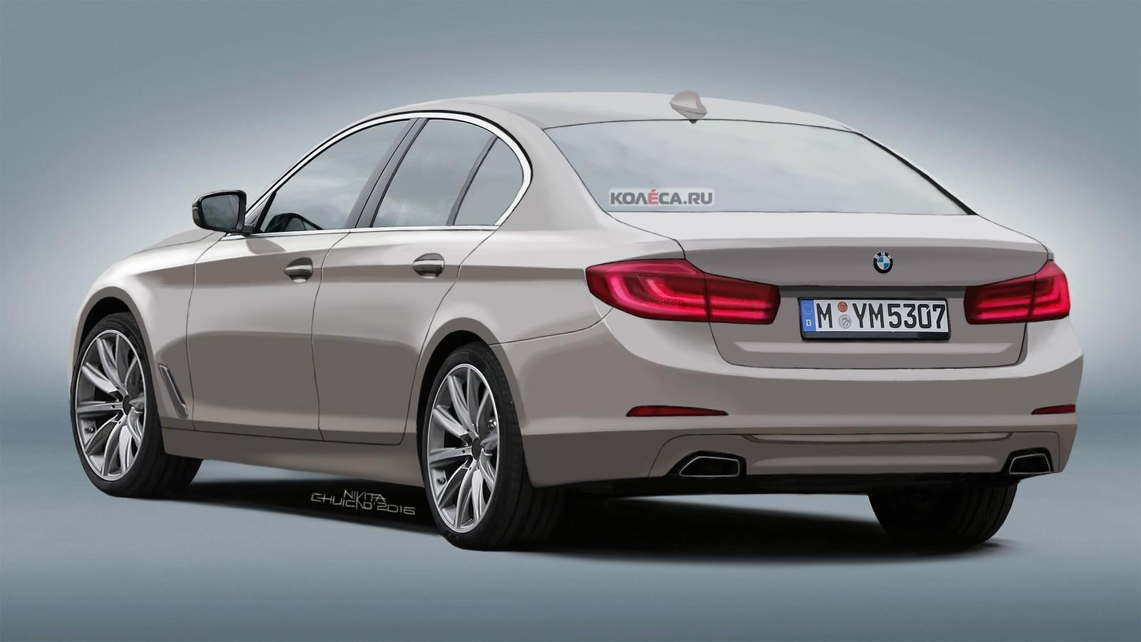 BMW 5er rear