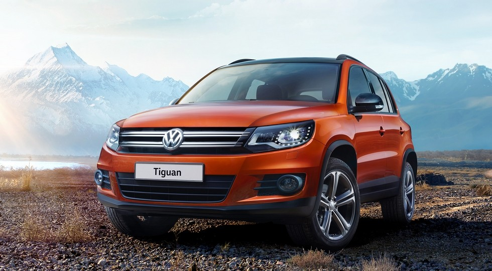 На фото: Volkswagen Tiguan первого поколения