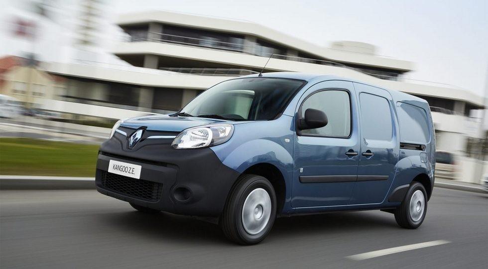 На фото: Renault Kangoo Z.E.