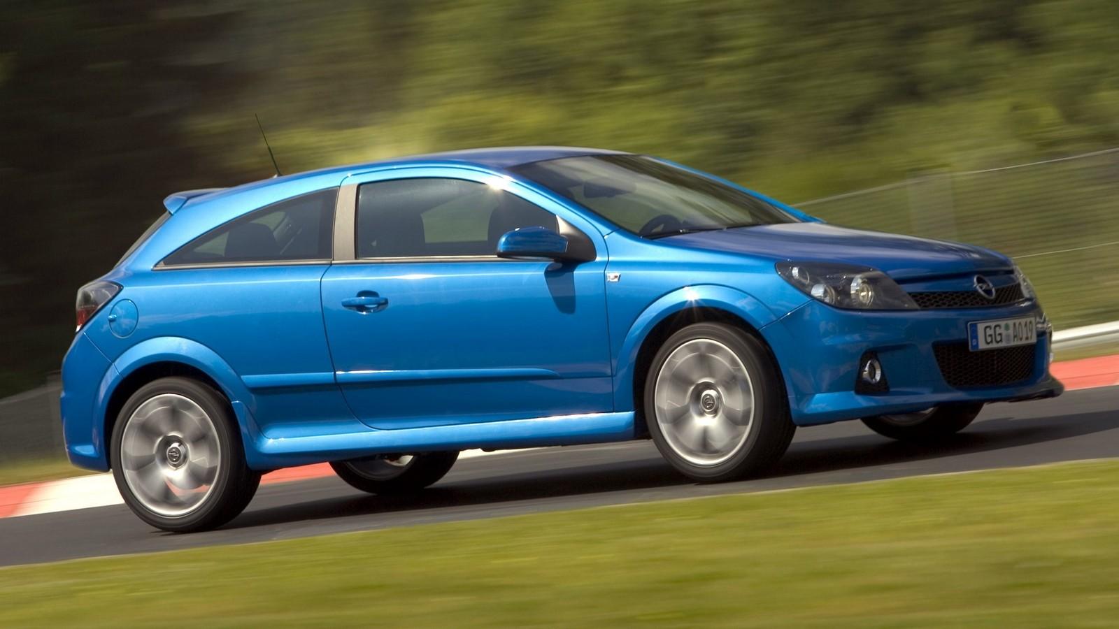 На фото: Opel Astra OPC (H) '2005–10
