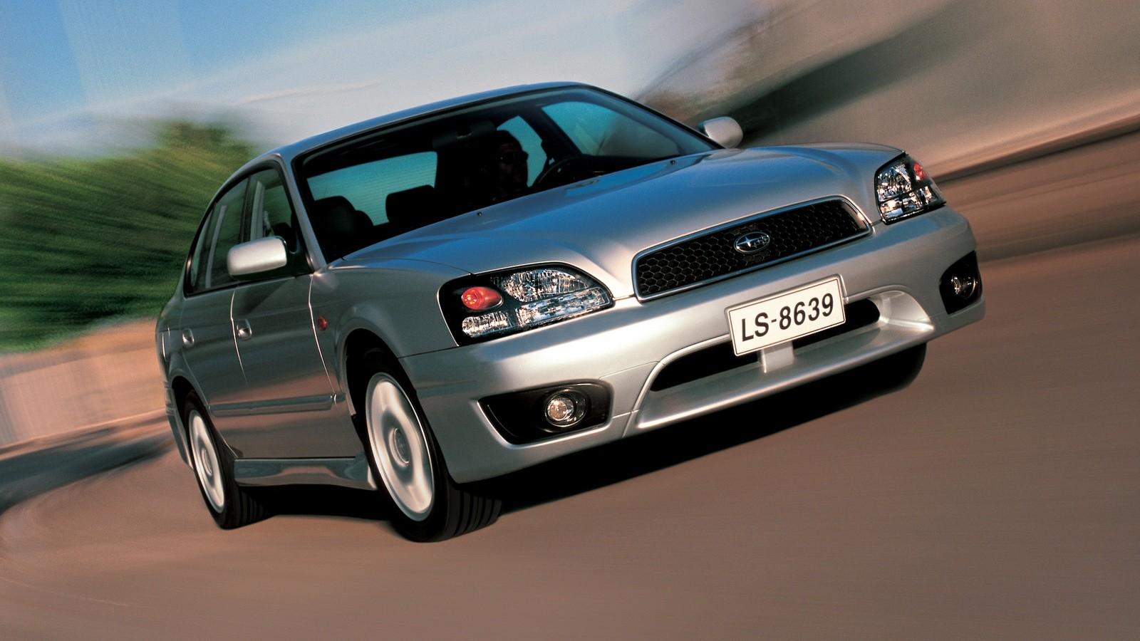 Subaru Legacy 2.0 GL (BE,BH) '1998–2003