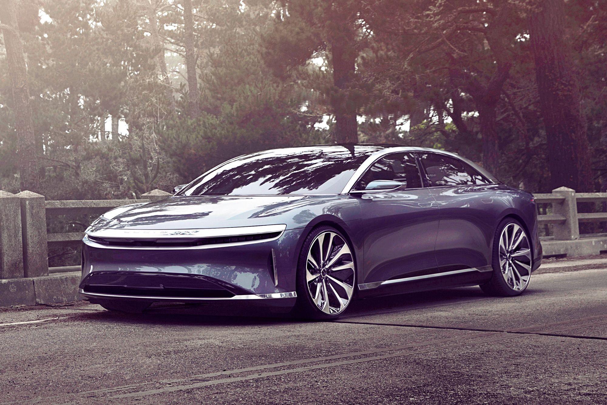 Серийный Lucid Air покажут только в сентябре, и он уже проиграл Tesla Model S