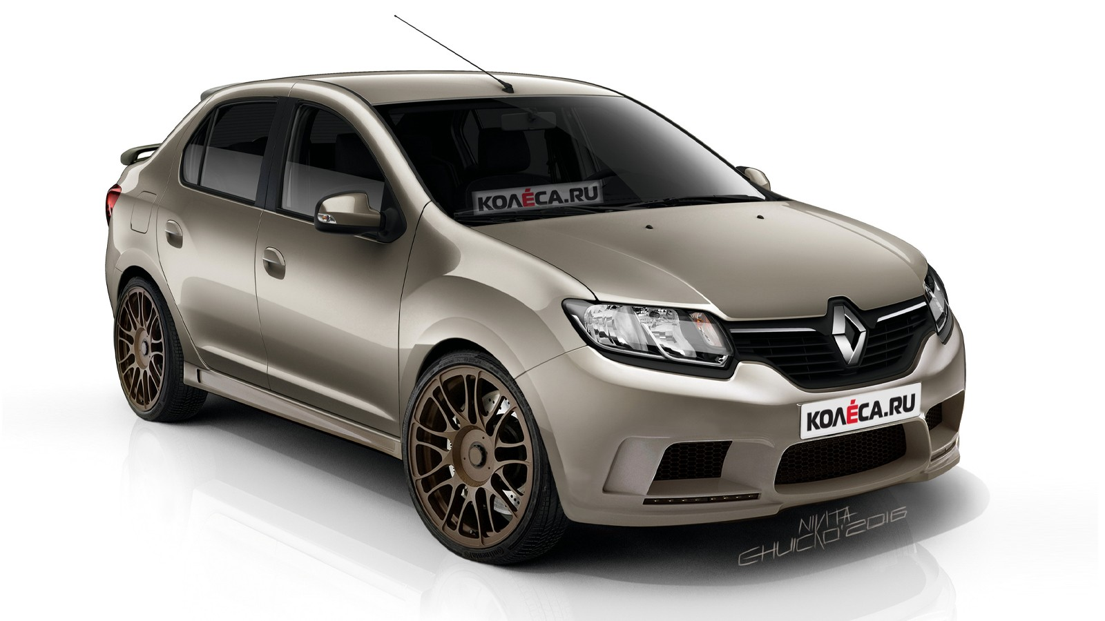 Renault Logan Hamann front