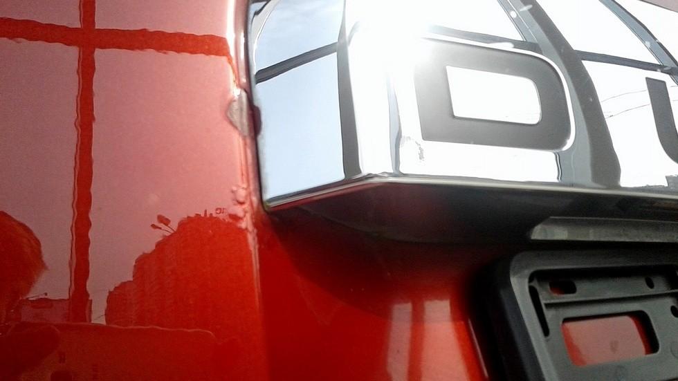 Renault Duster вспученная краска