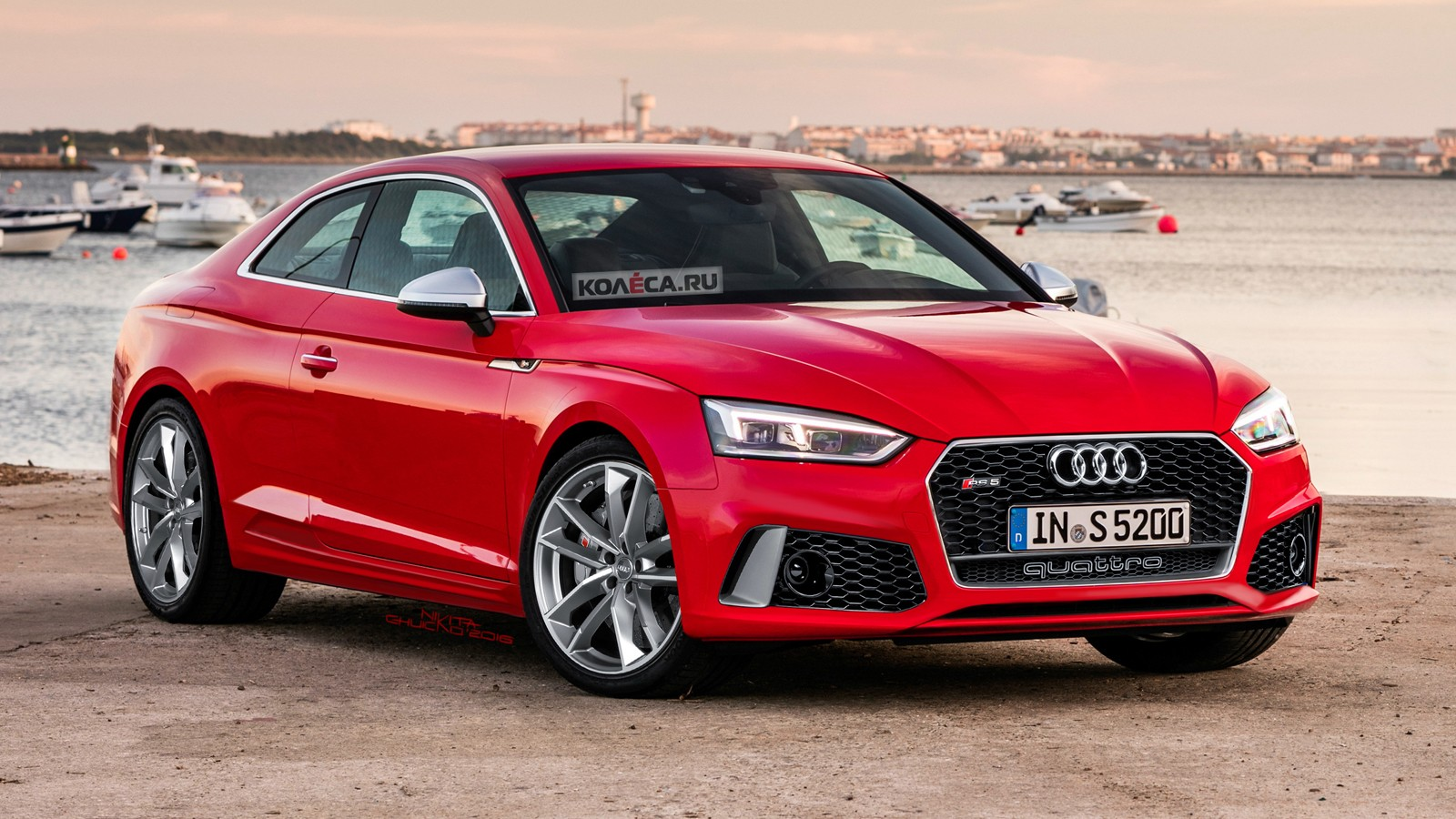 Audi RS5 front1