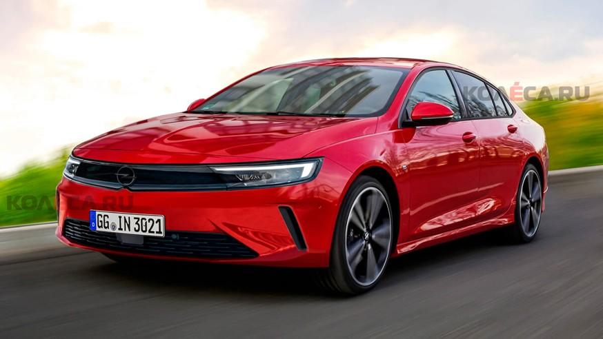 Opel готовит Insignia нового поколения: первое изображение