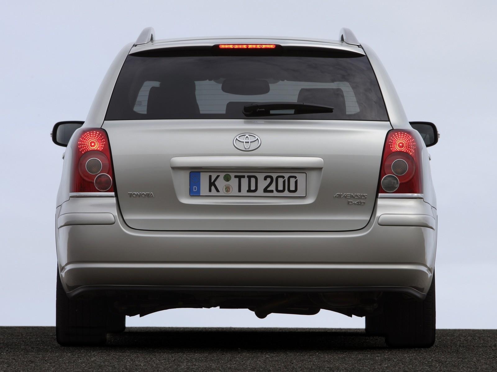 6Toyota Avensis Wagon '2006–08