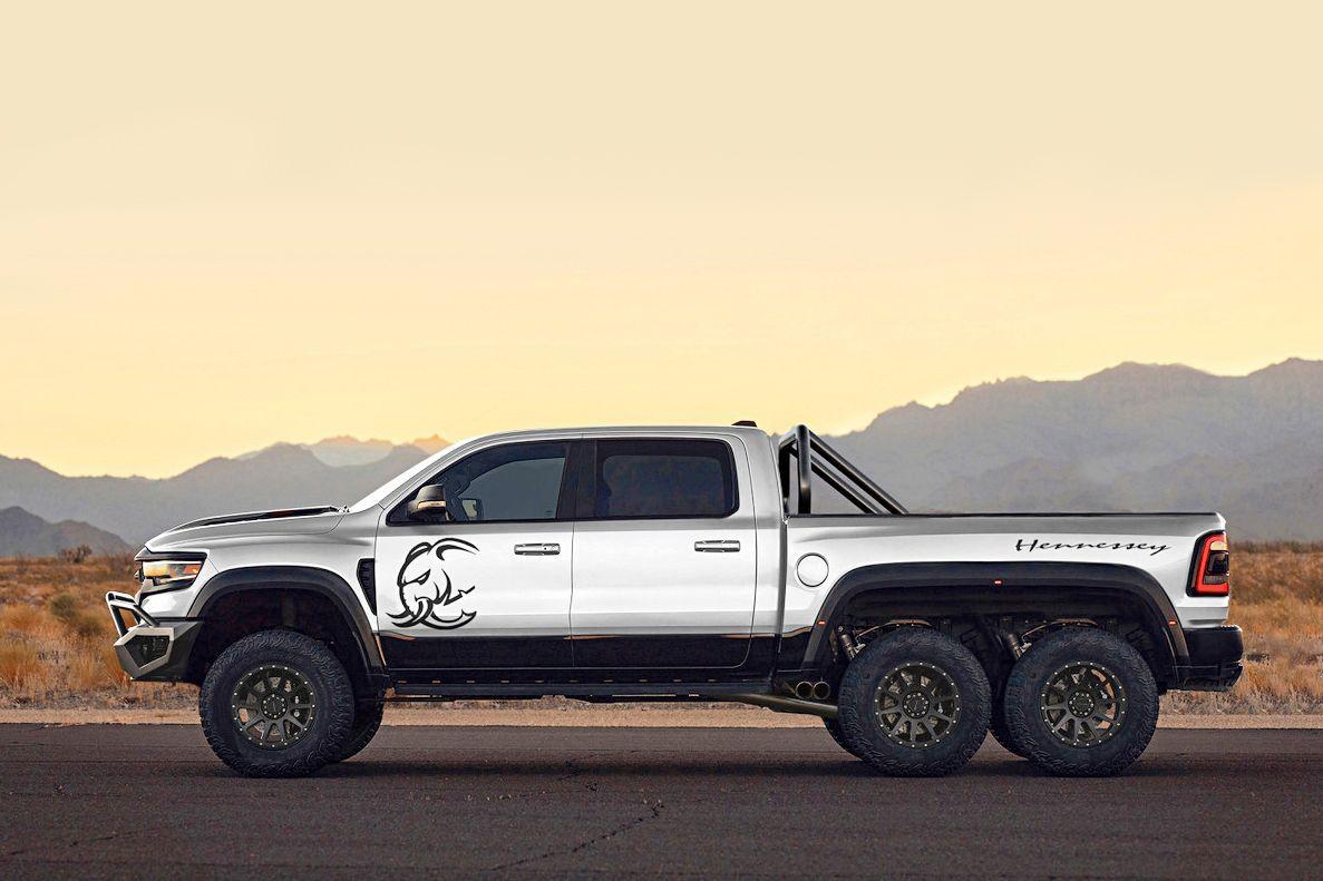 «Слонопикап» Hennessey Mammoth 6X6: свыше 1200 л.с. за полмиллиона долларов
