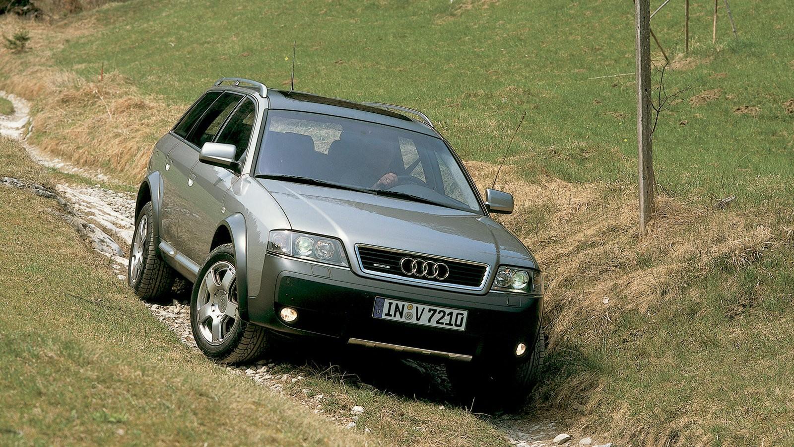 На фото: Audi Allroad quattro (2000)