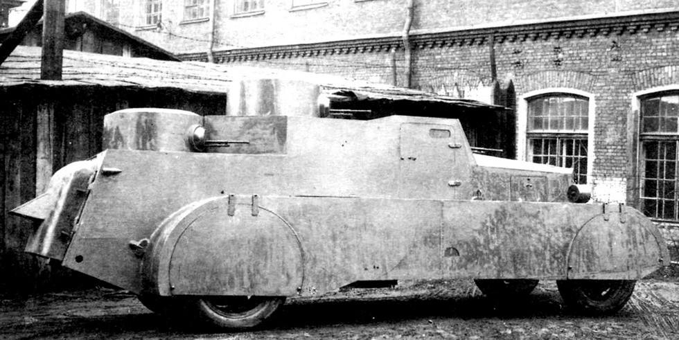Бронемашина БАД-1