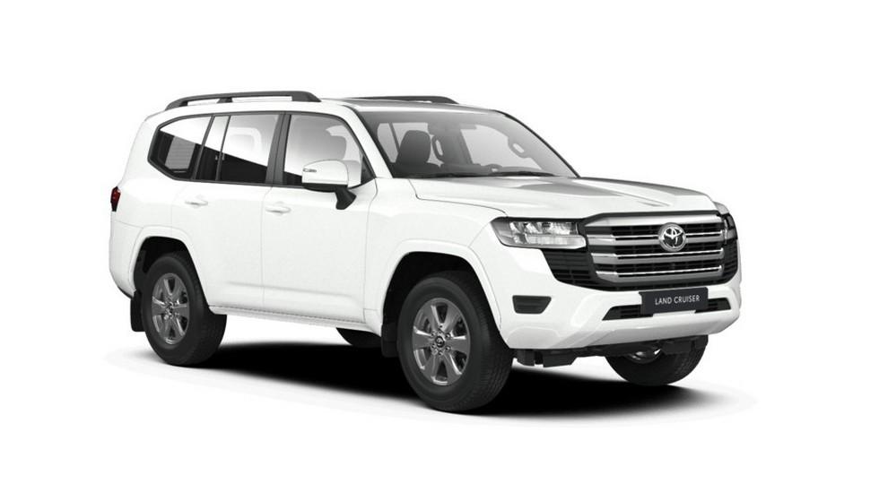 Новый Toyota Land Cruiser 300 стартует в России: пока только с бензиновым турбомотором V6