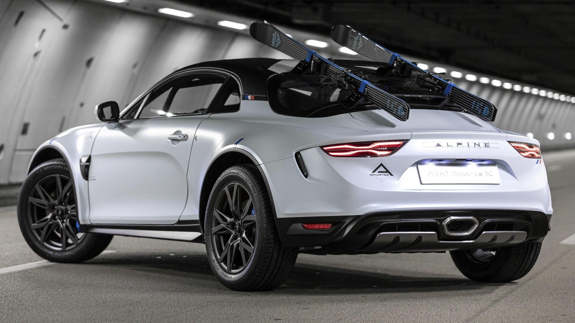 Похоже, кросс-купе Alpine A110 SportsX станет серийным
