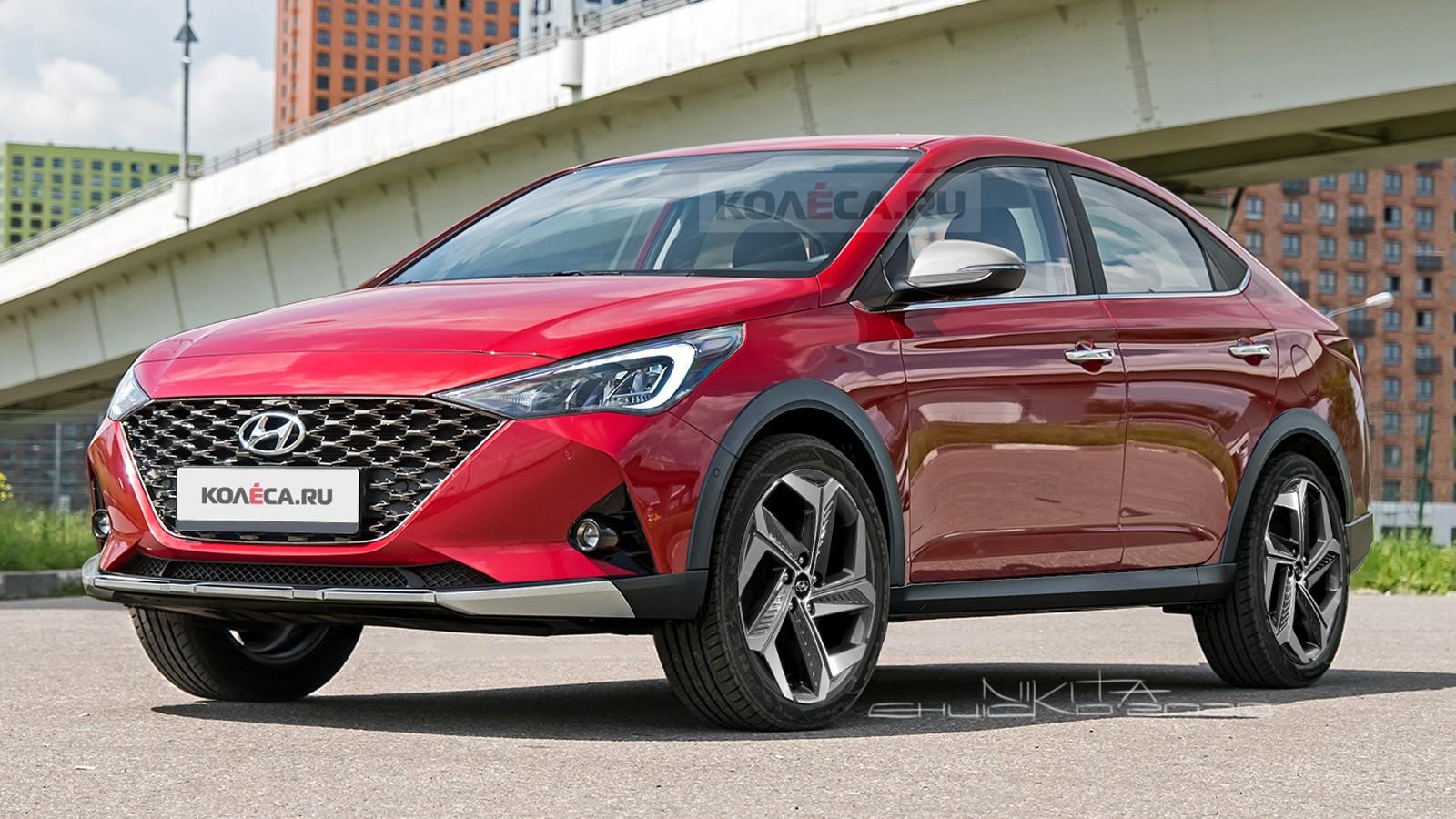Новый кросс-седан Hyundai Solaris: каким он может быть