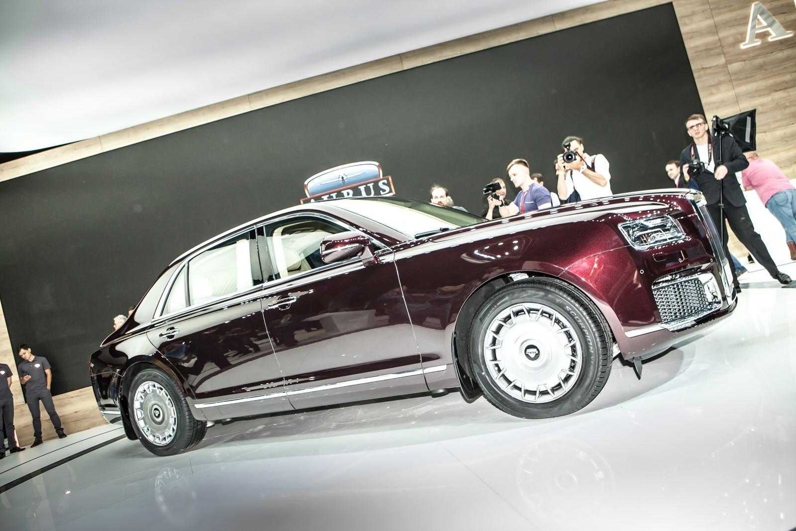 Шины от большой машины: «Кама» и Pirelli обувают Aurus-4123 вместо Michelin
