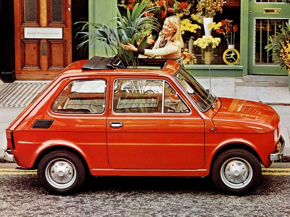 На фото: Fiat-126. Италия, 1972